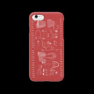 mariの赤い冬 Smartphone cases