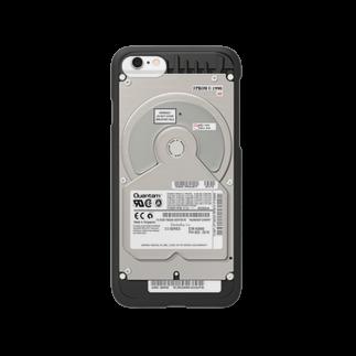 NaoのPCハードディスク風(iPhone6専用) Smartphone cases