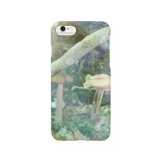 きのこシャボン2 Smartphone cases