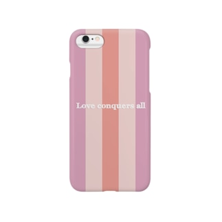 可愛いボーダー Smartphone cases