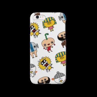メドゥ~さんSHOPの『メドゥ~さん』神話家全員集合 Smartphone cases