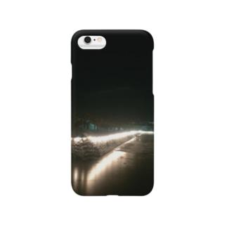 函館 五稜郭公園の夜 Smartphone cases