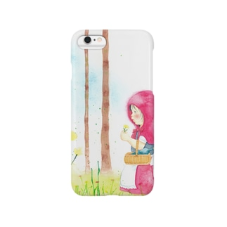 花摘む森で Smartphone cases