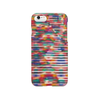 kasuri_heart Smartphone cases