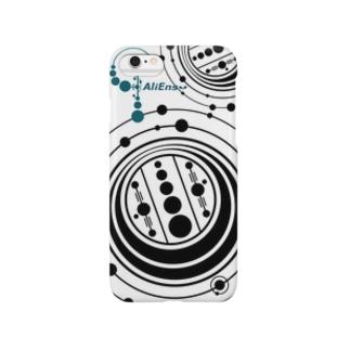 エイリアンズ・スマホケース/ミステリーサークル Smartphone cases
