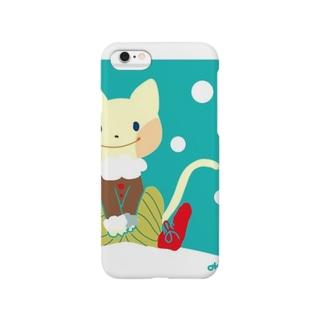 冬ねこ Smartphone cases