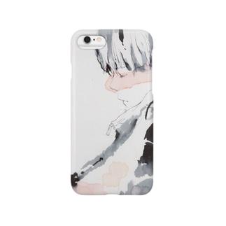 居眠り、男子 Smartphone cases
