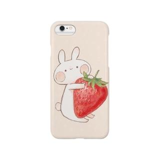 いちごうさぎ(6,6Plus対応) Smartphone cases