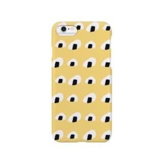 おむすびちゃんたち(ポップ) Smartphone cases