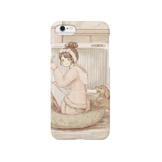 やすみのひ(6,6Plus対応) Smartphone cases