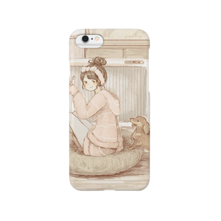 *momochy shop*のやすみのひ(6,6Plus対応) スマートフォンケース