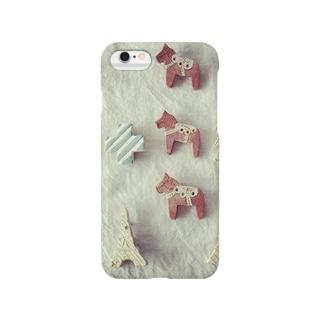 ダーラナホース Smartphone cases