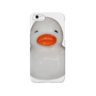 すいすいアヒルちゃん(白) Smartphone cases