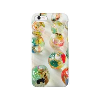 あなた色♡ビー玉 Smartphone cases