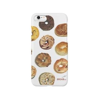 ベーグル柄 Smartphone cases