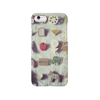 ほっこりブローチ Smartphone cases