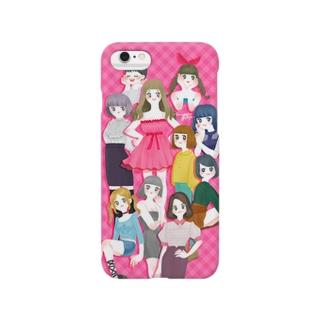 女の子詰め Smartphone cases