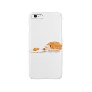 ひっぱり目玉焼き Smartphone cases