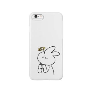 アーメンきくらげちゃん Smartphone cases