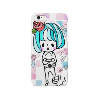 不機嫌ちゃん Smartphone cases