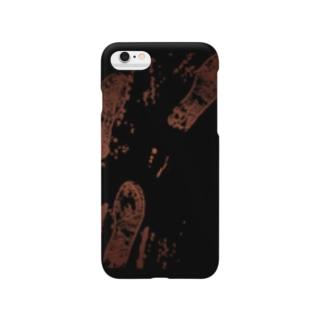 血の足跡 Smartphone cases