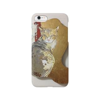 金猫のスマートフォンケース Smartphone cases