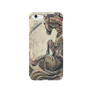 暴れ馬のsmart phone,iphoneのケース Smartphone cases
