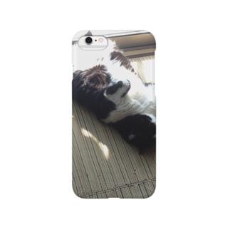 猫の日向ぼっこ Smartphone cases