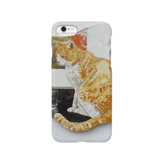 黄昏猫のiphone,smart phone case Smartphone cases