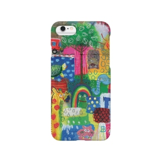 Colorful patchwork frog Smartphone cases