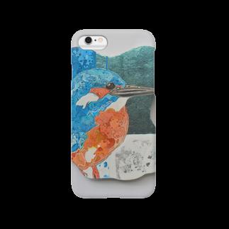 YuChikazawaの川蝉のiphone case Smartphone cases