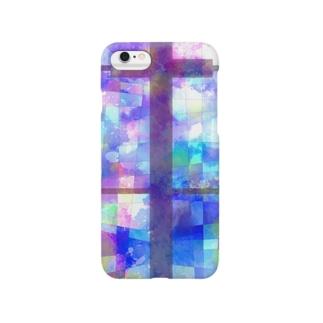 十字の窓 Smartphone cases