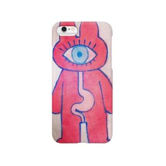 「目胃」スマホケース Smartphone cases