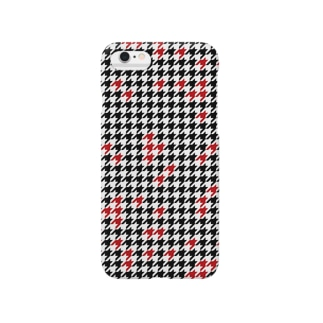 Hounds Tooth Check02 Smartphone cases