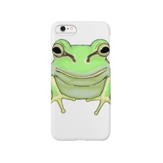 でっかいカエル Smartphone cases