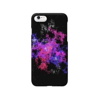 Pastel Galaxy(Pink and Purple) Smartphone cases