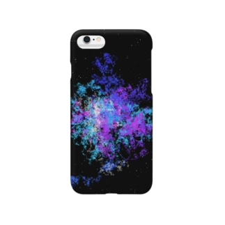 Pastel Galaxy(Blue and Purple) Smartphone cases