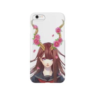 牡丹の角 Smartphone cases