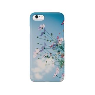 秋桜と秋空ii Smartphone cases