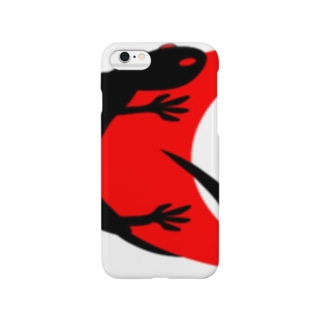 レッドムーン Black_Lizard Smartphone cases