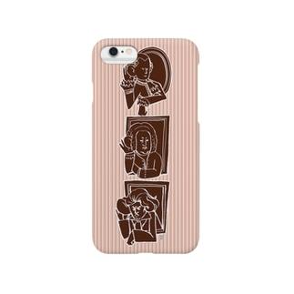 耳がきこえる名作曲家トリオ Smartphone cases