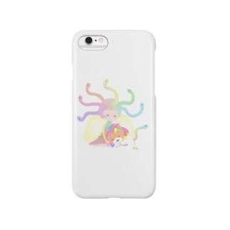 癒し系メドゥーサ&キマイラ Smartphone cases