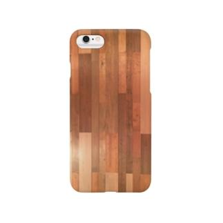 木目 Smartphone cases