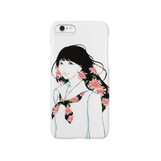 【IRODORI】 女子学生 Smartphone cases