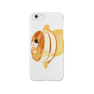【TOMOGUI】ホットケーキのばたさん Smartphone cases