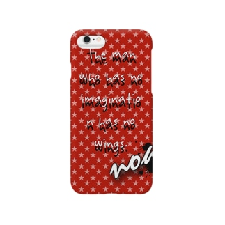 The man who has no imagination has no wings.   Smartphone cases