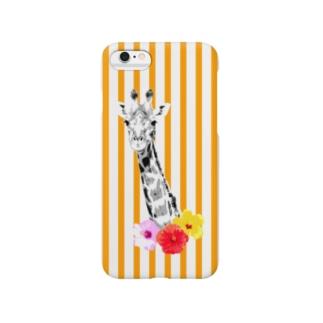 キリン【NAYO-SMP-GIRAFFE01】 Smartphone cases
