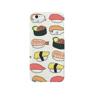すし ときどき あざらし Smartphone cases