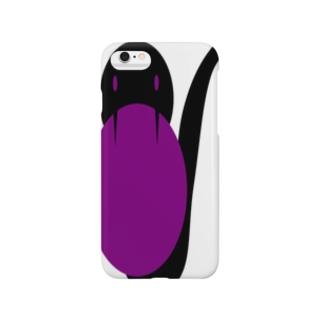 蛇【エクセルアート】 Smartphone cases