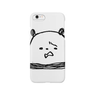 ガオー!パンダくん! ニガ虫ばーじょん Smartphone cases